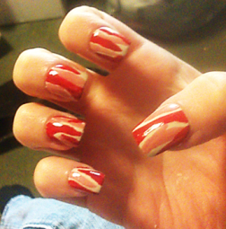 bacon-nails