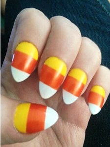 candy-corn-nails