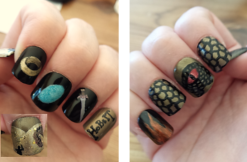 Sometime in January I did some Deadpool nails because I love Deadpool. And  then in February I did Valentine's nails, of course. Those were inspired by  this ... - Deadpool Nails Nails, The Final Frontier