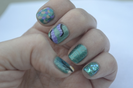 Little-Mermaid-nails-3