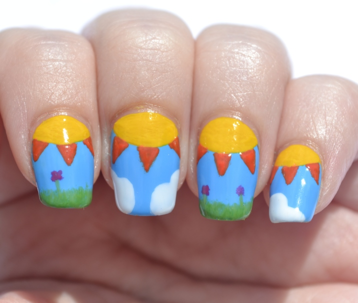 31DC-Day-18-half-moon-kiddie-drawing-nails-1