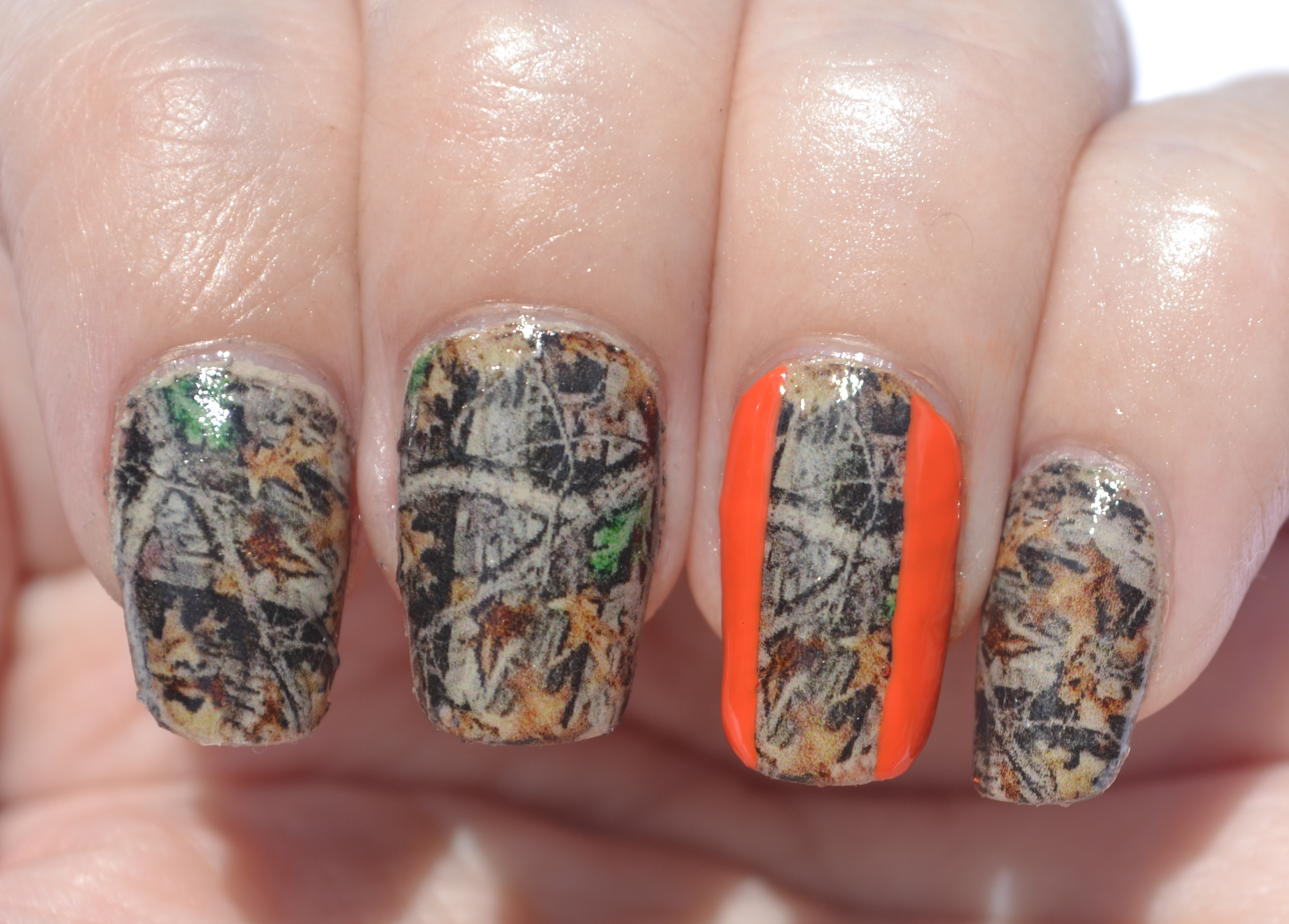 Camo nails nails the final frontier 31dc day 25 camo nails 4 prinsesfo Image collections
