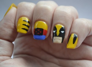 31DC-Day-3-Wolverine-nails-1