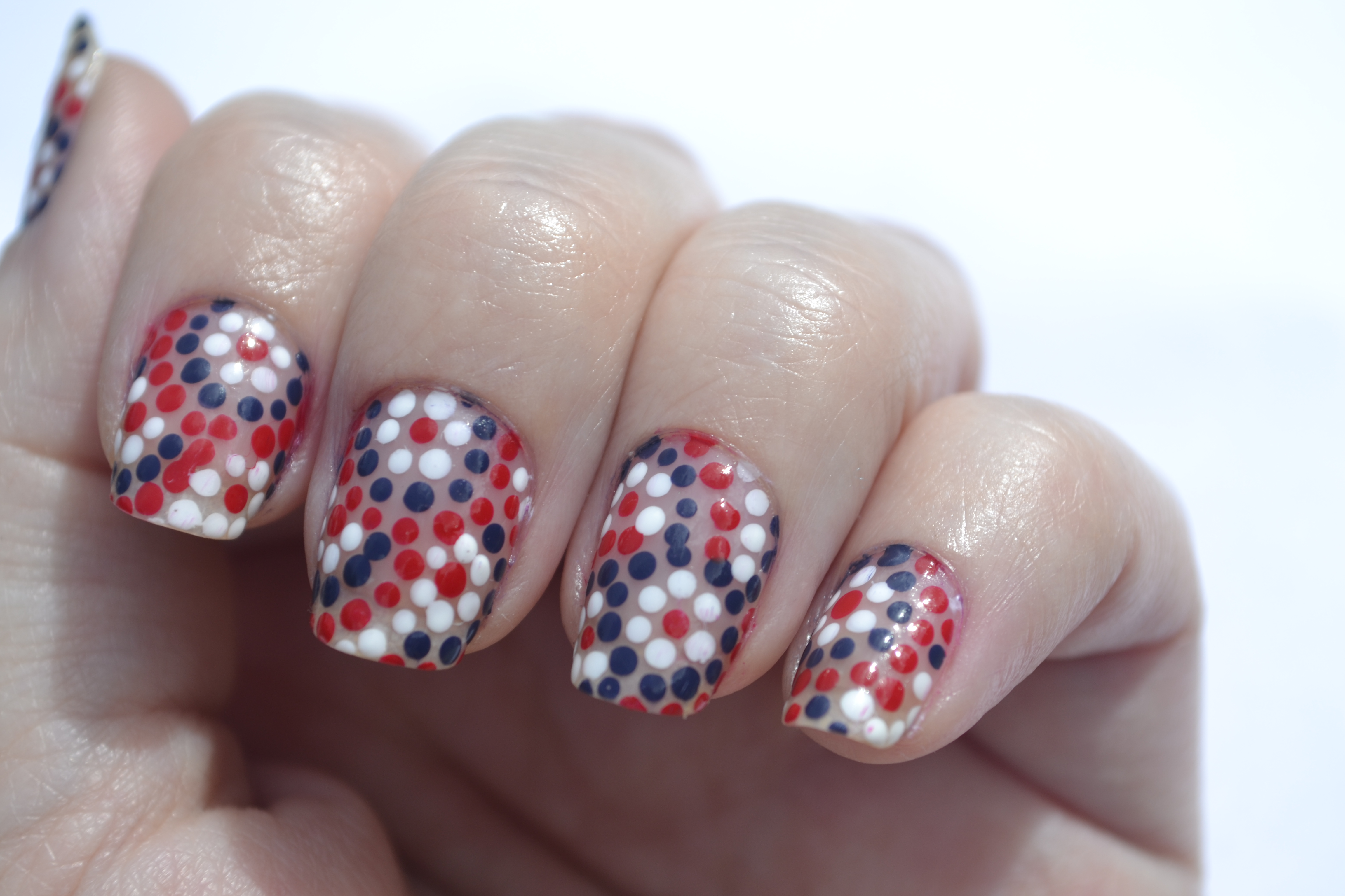 Double post! 4th of July nails and 31 Day Challenge, Day 4: Green ...