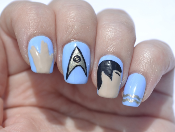 Embrace-Your-Geekness-Day-Spock-nails-2