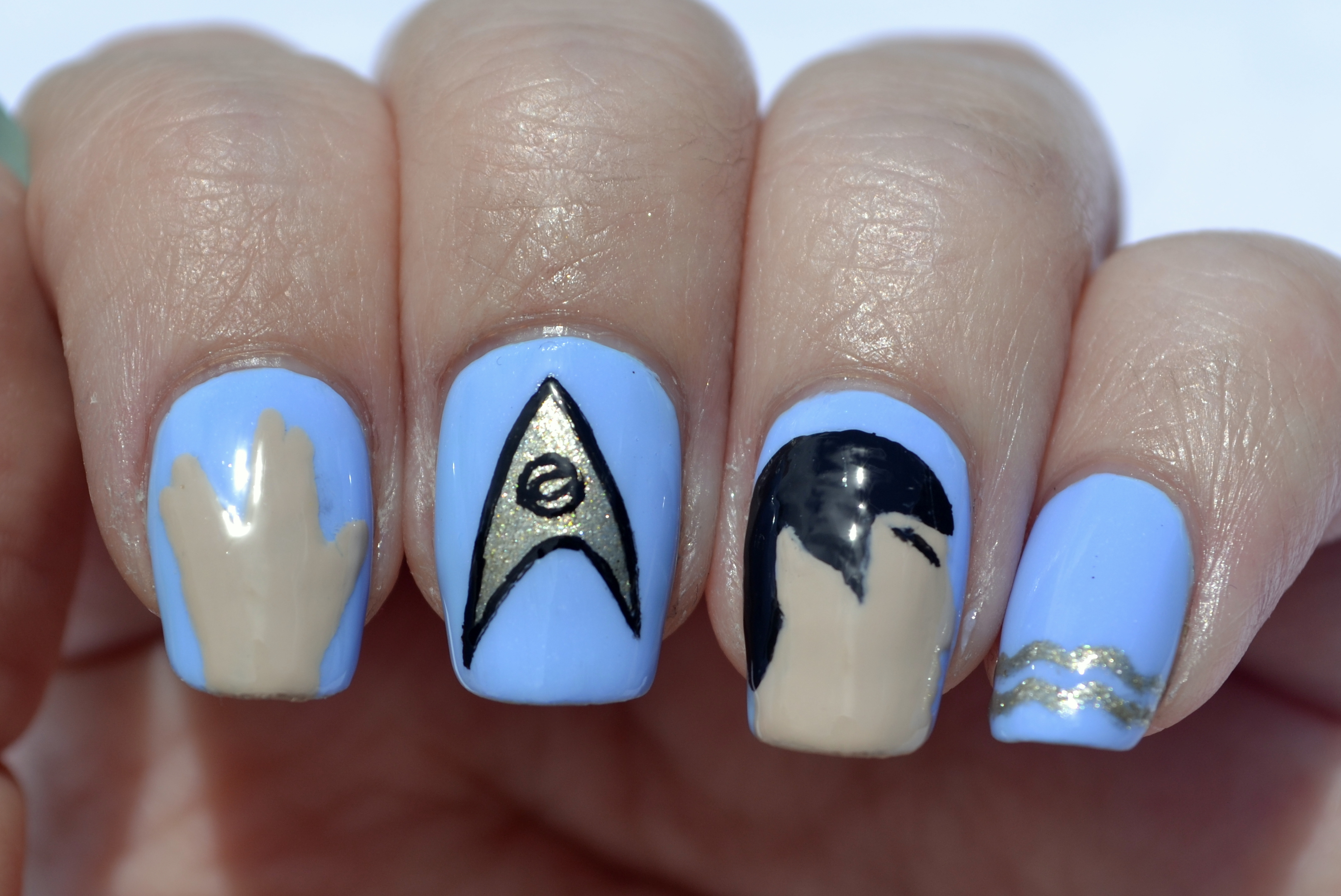 Nails The Final Frontier These Are The Voyages Of The Starship