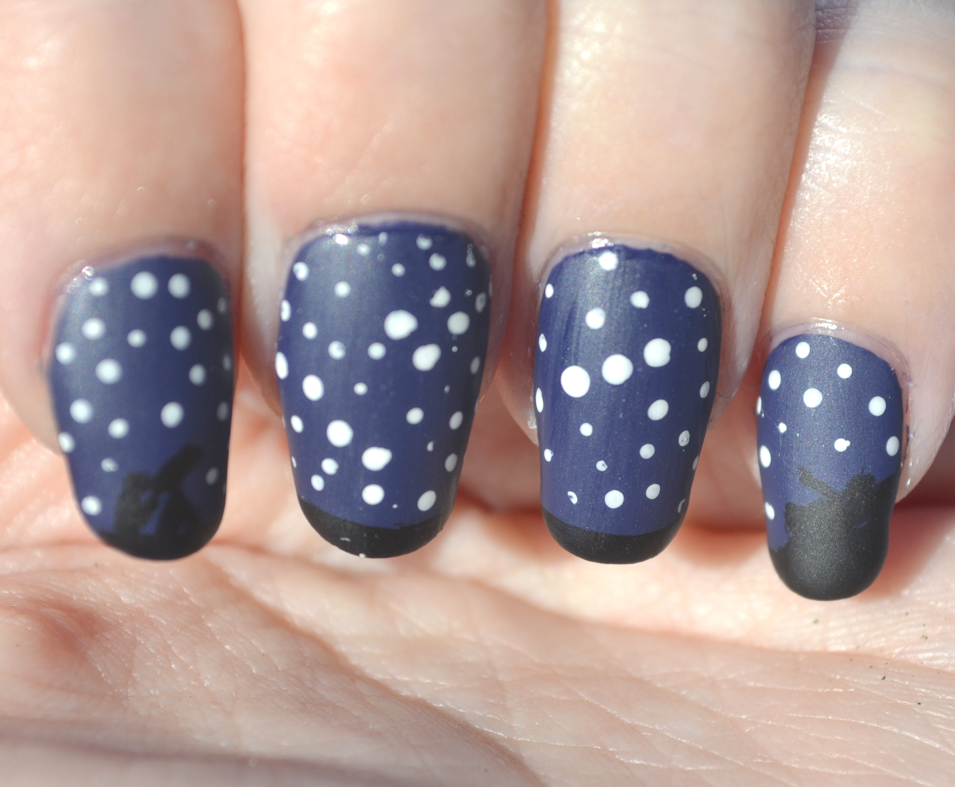 Challenge Your Nail Art, Let\'s Go Camping theme: Under the Stars ...