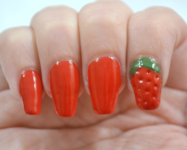 OMD2-Day-24-strawberry-accent-nail-2