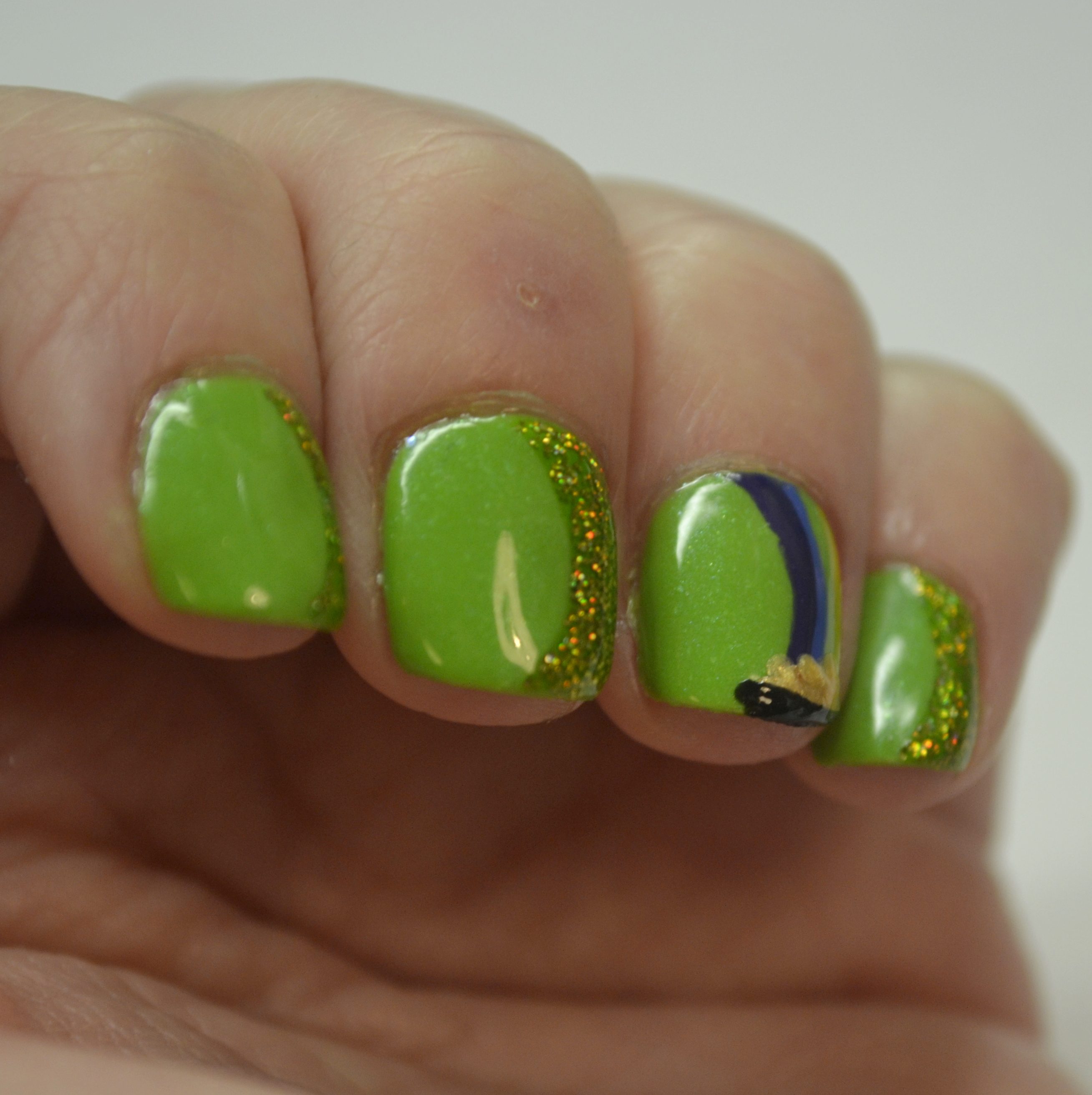 St Patricks nails   Nails, the Final Frontier