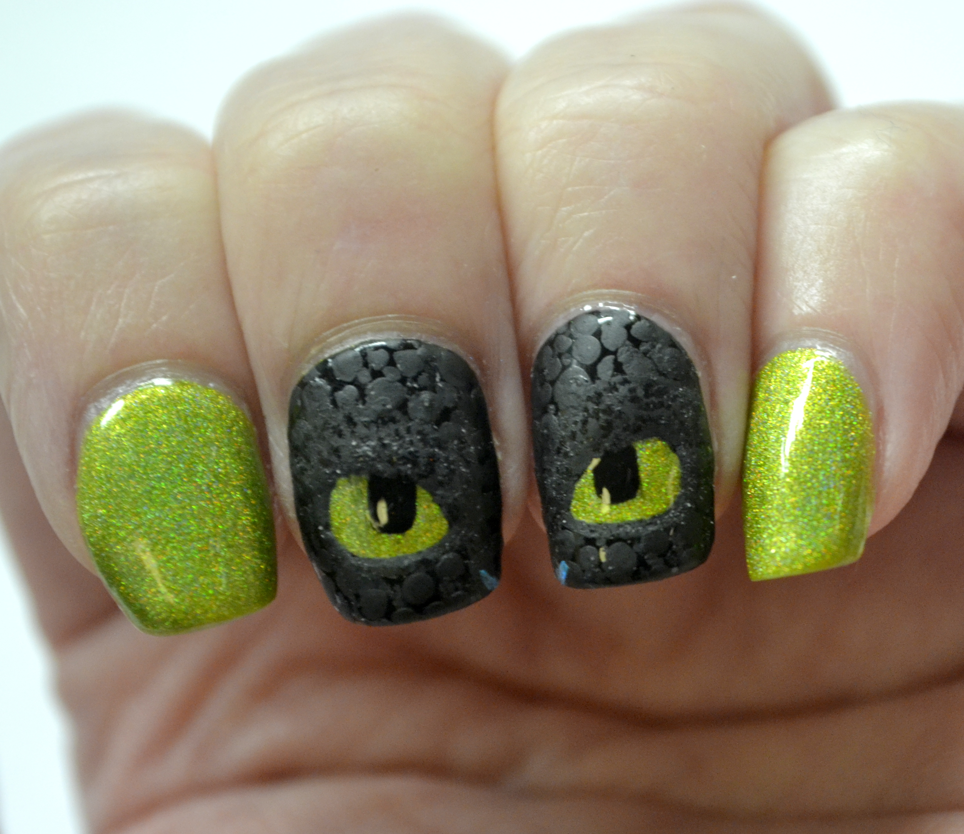 Glam Polish Zap How To Train Your Dragon Nail Art Nails The