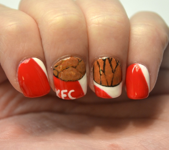 Day-16-Fast-food-KFC-nails-1