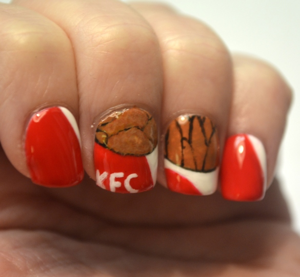 Day-16-Fast-food-KFC-nails-2