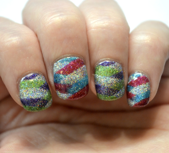 Day-5-Colorful-braided-holo-nails-1