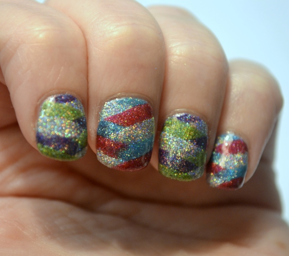 Day-5-Colorful-braided-holo-nails-2
