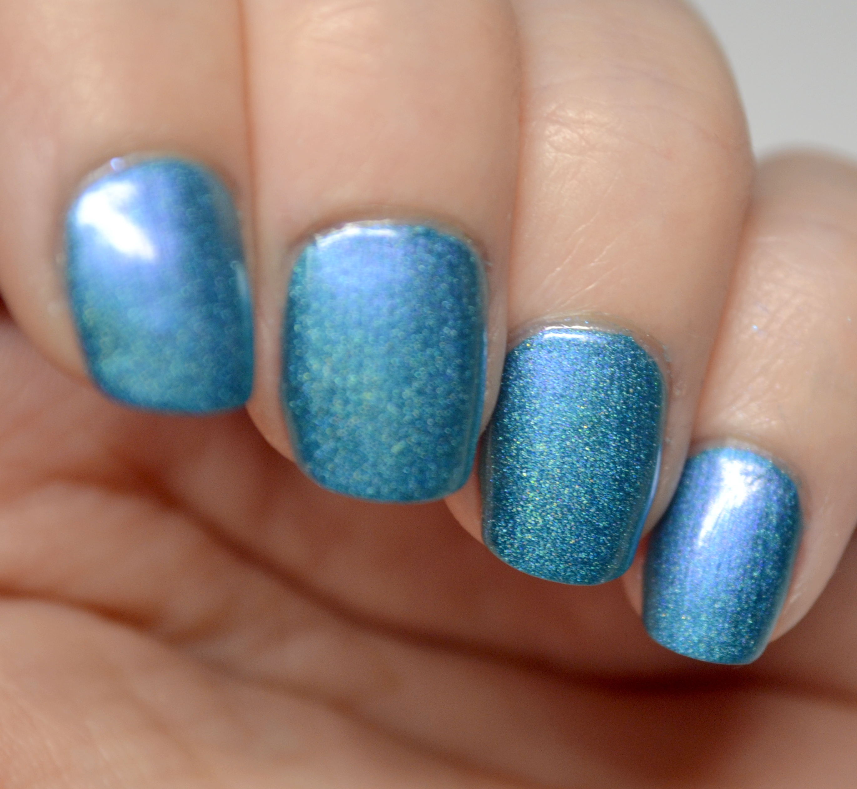 A England Whispering Waves And Spirit Of The Moors Nail Art